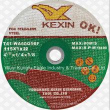 Schleifmittel Inox-Schneidrad, abrasives Trennscheibe