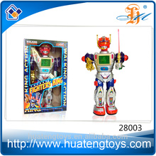 2016 Popular ABS talking toy battery operated robot toys