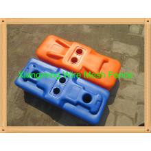 Temporäre Zaunfüße aus PVC