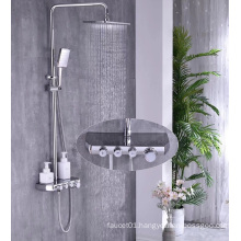 G674 Black bathroom shower antique shower faucet set rain shower set faucet