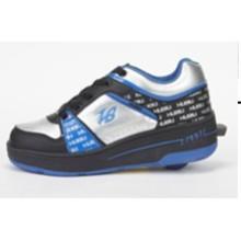 Zapato de rodillo de la manera para el varón femenino, zapatos baratos del rodillo del precio con las ruedas retráctiles, patín del patín del patín del cuero Deportes