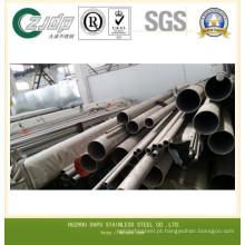 ASTM 316 Tubo de aço inoxidável soldado de maior diâmetro