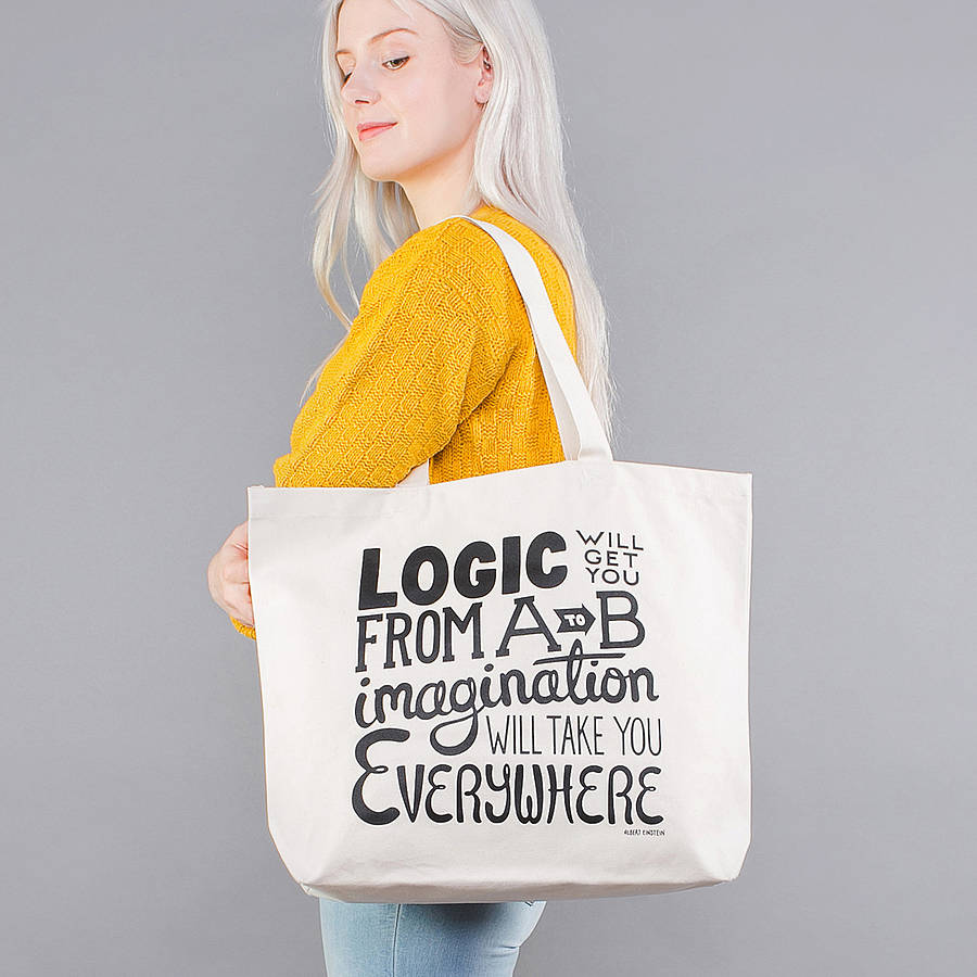 Happy pure color shopping canvas bag