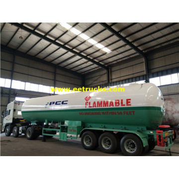 54cbm Tri-axle Propane Transport Remorques