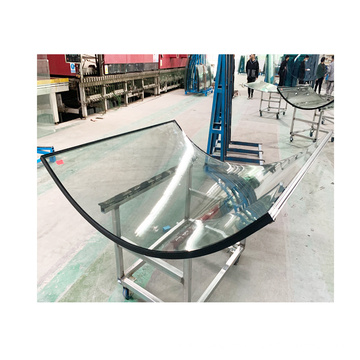 High Quality Custom Safety Toughened Double Curved Building Tempered Glass