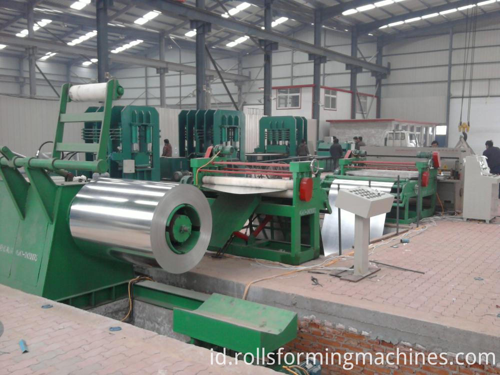 cut to length production line 3