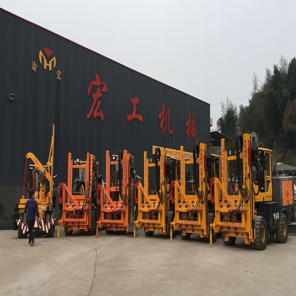 Multifunction Full-hydraulic Highway Pile Driver