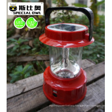 4V2W LED Camping Lantern/Lighting with Solar, &Mobile USB Charging, Portable LED Solar Camping Light, Solar Lantern Camp Lights, Hanging Camping Hiking Lantern