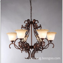 metal chandelier lamp with perfect finish