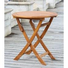Table Pliante Extérieure Nature Couleur pour Patio Jardin Maison Jardin De Pelouse Meuble En Bois À Cour arrière