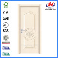 JHK-P05 decorative plastic 2 panels pvc wood door