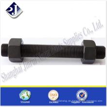 Hochleistungsschwarzes Finshed Thread Rod
