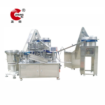 Hypodermic Syringe Barrel Plunger Assembly Machine