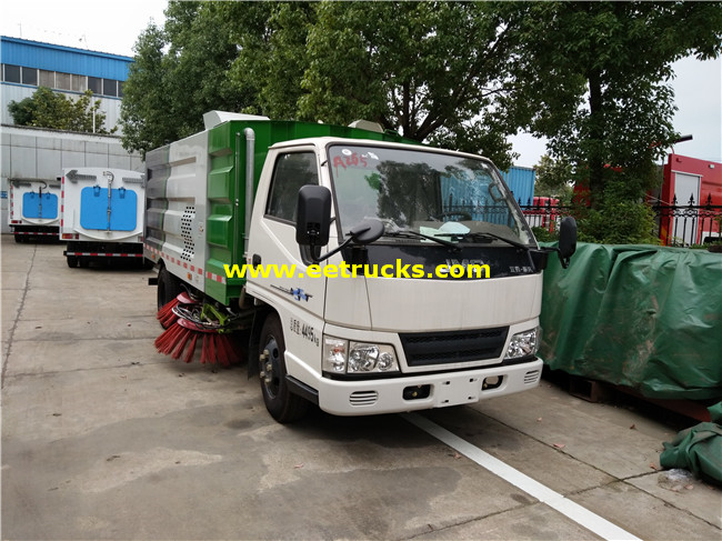 JMC 2 Ton Road Sweeper Vehicles