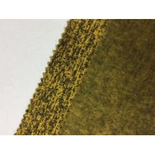 Malha de lã de poliéster tecido sólido