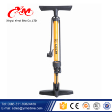 Yimei Promocional venta mini bomba de bicicleta / logo personalizado y bomba de ciclo de color / mejor calidad y precio bomba de bicicleta con medidor