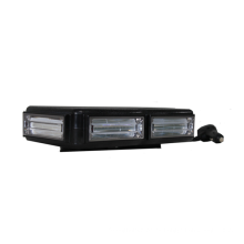 12-24V 60W COB Super brillante Imán fuerte Intermitente Mini barra de luz de advertencia de seguridad