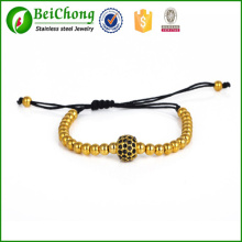 Fashion design briading men's macrame bracelet wholesale