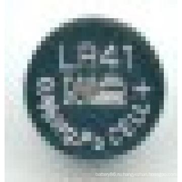 1.5V 31mAh щелочная кнопки батарея Lr41 L736 AG3