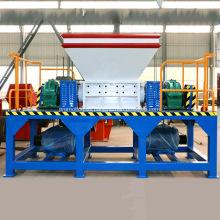 Máquina trituradora de neumáticos Shredder de doble eje para la venta