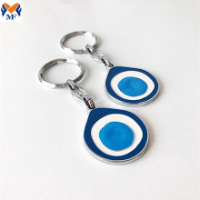 Best Price Metal Custom Logo Evil Eye Keychain