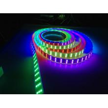 TM1812 SMD Flexible LED Strip CE RGB RVB Bande LED