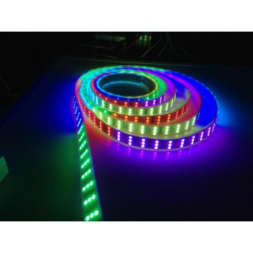 Tira flexível do diodo emissor de luz TM1812 SMD Tira do diodo emissor de luz do RGB do RoHS do CE
