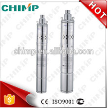 "Chimp 3"" 4"" Oil Filled Motor Underground Deep Well Submersible Screw Water Pump"