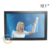 Alta resolución 1280X800 10 pulgadas TFT con panel táctil capacitivo con puerto USB DVI VGA HDMI