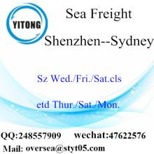 Shenzhen Port LCL Consolidación a Sydney