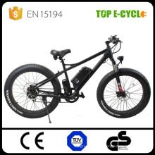 26-Zoll-Fett-Reifen ebike Aluminium-Legierung elektrische Fett Fahrrad Elektromotorräder