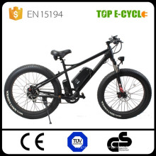 Motocicletas gordas eléctricas eléctricas del motor de la bici de la aleación de aluminio del ebike del neumático gordo de 26 pulgadas
