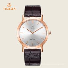 Relógios de pulso de quartzo clássicos da forma nova dos homens 72308