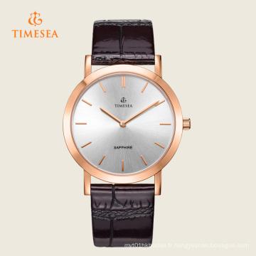 Nouvelles montres de poignet de quartz de mode des hommes nouveaux 72308