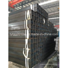 Pure Black Square Steel Tube