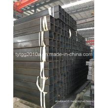 Pure Black Square Steel Tube
