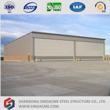 Hangar de aviones de estructura de acero estructural