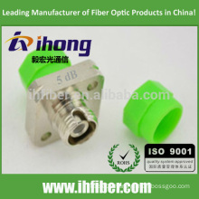 FC/APC Singlemode Optical Bulkhead-type Fixed Value Attenuator 5db