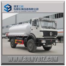 8000L Beiben 4X4 Kraftstofftankwagen