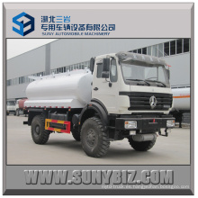 8000L Beiben 4X4 camión cisterna de combustible
