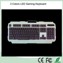 Cheapest Backlight Ergonomic Design LED Computer Keyboard Gaming (KB-1901EL)