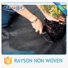 Сельскохозяйственным лучшей борьбы с сорняками ПП нетканые черный почвопокровные растения