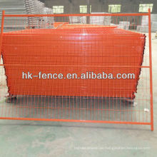 6ftx9.5ft Orange Color PVC Coating Canada Temporary Fence Panels (HT-001)