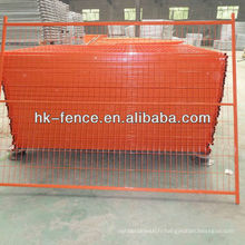 Electric Galvanized Then Powder Coating 6*9.5ft Canada Temporary Fence Panels For Construction