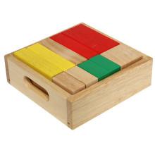 Ensemble de blocs magiques en bois