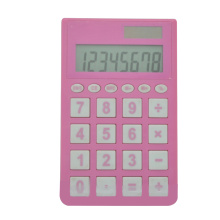 8 Digits Pink School Pocket Calculator