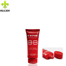 super oval BB cream packaging red tube