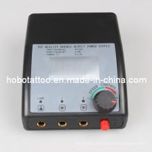 Profesional Digital Dual de LCD tatuaje fuente de alimentación