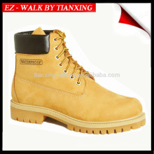 zapatos de seguridad a prueba de agua con cuero genuino