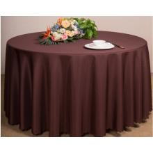 Das farbige Hochzeits-Hotel-Verzierungs-Tischdecke